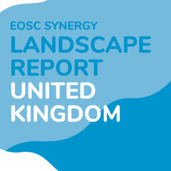 EOSC Landscape reports United Kingdom